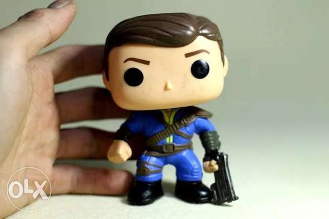 Imperfect funko pop fallout action figure