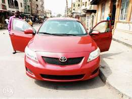 Toyota corolla 2010 tokunbo for fast sell