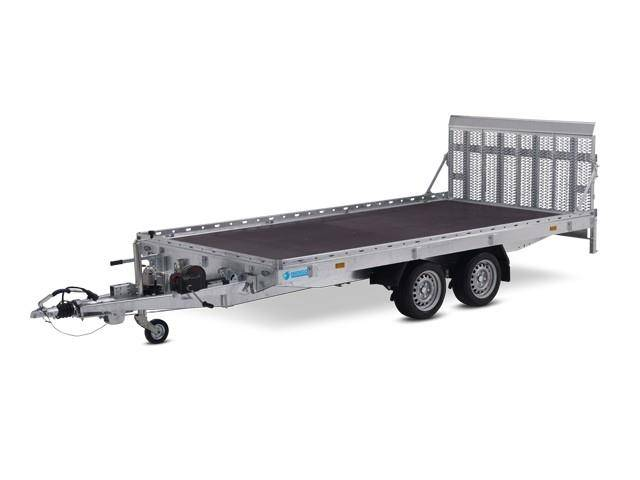 Hapert Indigo HT 2 Transporter 4050 x 2000 mm, 3,0 to. Rampe
