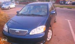2008 model,Toyota Corolla,automatic gear,tokunbo