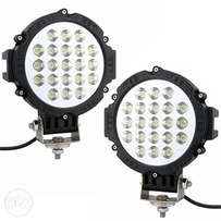 Led spot lights 7 inches round 63w