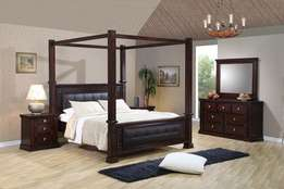 Mahogany solid beds
