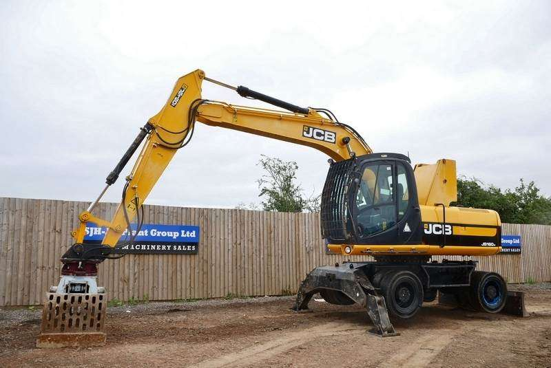 JCB Js160w - 2011 for sale | Tradus