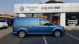 2016 Volkswagen Caddy Maxi 2.0 TDI panel van R 299 000