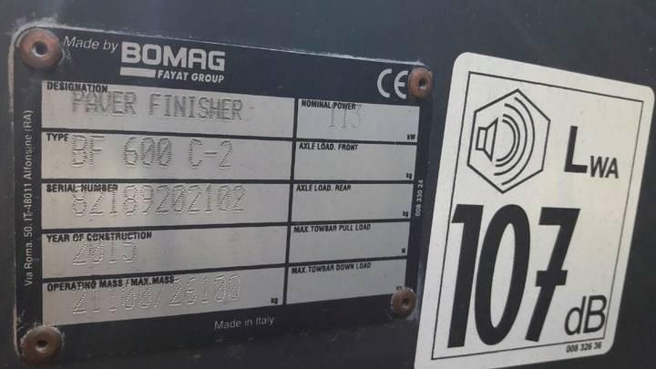 BOMAG BF 600-2C - S500 - 2015 - image 24