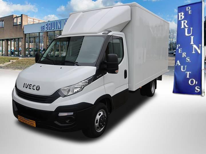 Iveco Daily 35C12V EURO6 Dhollandia laadklep - zijdeur - Airco ... - 2017