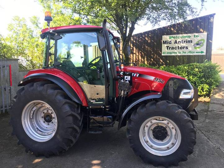 Case IH Farmall 95 C C/w Trima X31 Loader - 2017
