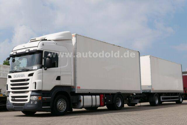 Scania R 480 4x2 Koffer Retarder Standklima Kpl. Zug - 2013