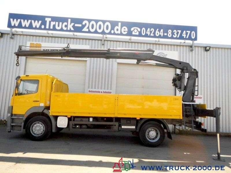 Mercedes-Benz 1828 PK 11502 7,9m=1,2t.*5.+6.Steuerkreis*1.Hand - 2004 - image 5