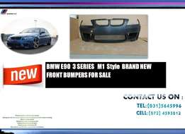 Bmw E90 3-Series 4DR M1 STYLE Brand New Front Bumpers Price:R5850