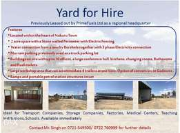 Yard for Hire