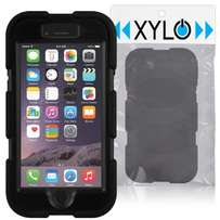 Black Heavy Duty XYLO-DEFENCE Extreme Case / Shock Proof Cover / Hard
