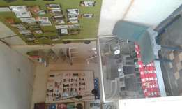 Afull shop for electronics and spare for phones