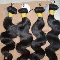 Brazilian hair and Peruvian hair Grade 8A at reasonable price
