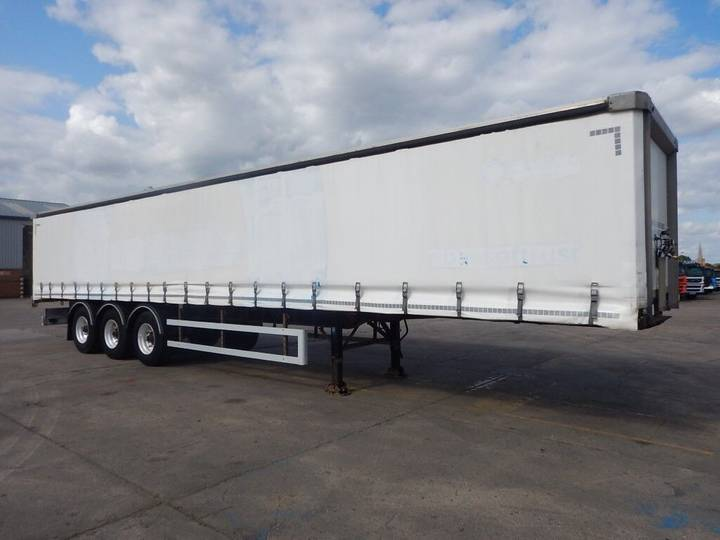 SDC 45FT CURTAINSIDE TRAILER - 2008 - C257083 - 2008