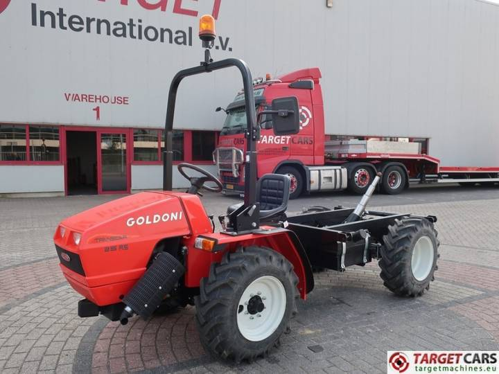 Goldoni Transcar 25RS 4WD Tractor 20.4HP NEW UNUSED - 2018