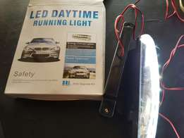 LED white & blue DAYTIME Lights