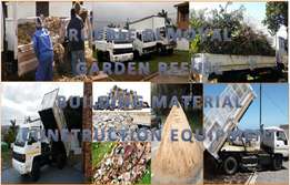 Removal of Rubble, Garden refuse, Waste & other Commodities