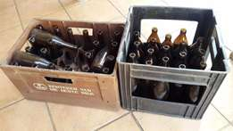 2 x SAB Crate with Bottles J 1149/1150