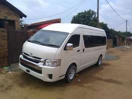 15 seater ready for work