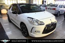 2012 Citroen DS3 1.6 VTi Style in Brilliant White with Black roof