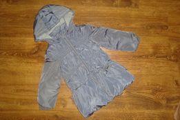 Теплая демисезонная курточка пальто для девочки 24 мес(92-98) dd6ccc5cdb0a6