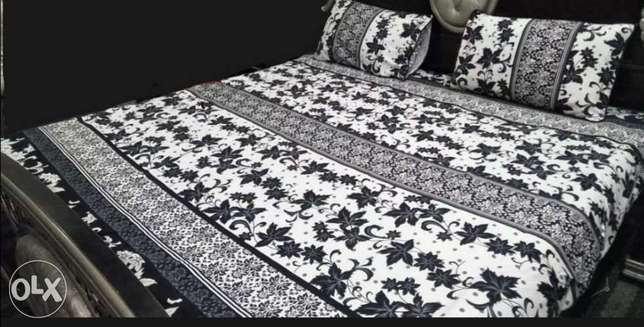 Printed King Size double bed sheet 100% Cotton