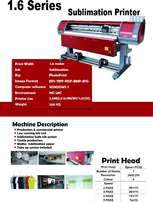 NEW 1.6m TitanJet large format Sublimation Printer