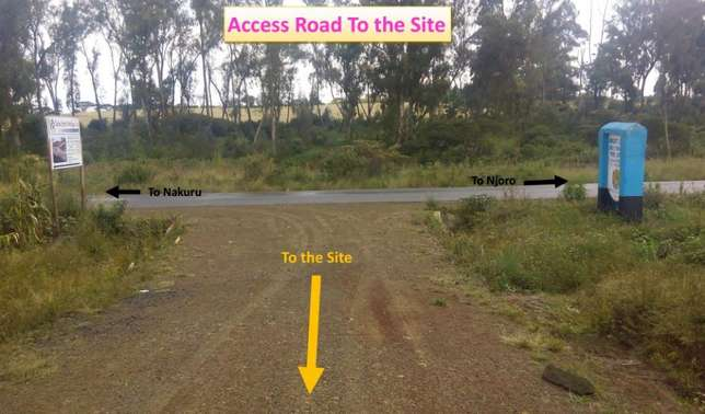 4 plots for sale Nakuru-Njoro road Nakuru East - image 6
