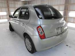 2010, Pretty nissan march KCL 1200cc, CD player,intelligence key.