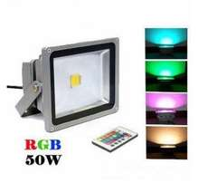 50W 220V RGB LED Flood Light with Remote Control