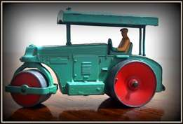 The Dinky Toys Aveling Barford road roller the first road roller.