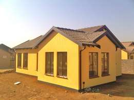New GAP house development in Gem Valley, Mahube Valley, Mamelodi