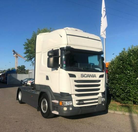 Scania R450LA4X2MNA Topline/Navi/Standklima/SCR Only - 2015