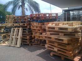 we make and sell all kind of pallets selling for 44 rand per pallets