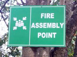 fire signage's for sale