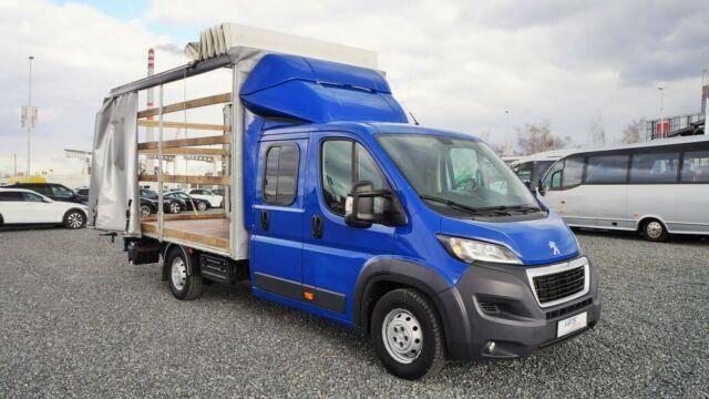 Peugeot BOXER 3.0/130KW PRITSCHE 6 SITZE / 8 PAL. /LUFT - 2015