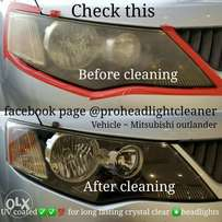 Headlight cleaning/restoration