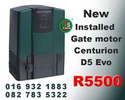 Centurion D5 Evo gate motor with installation R5500 Vaal triangle vdbp