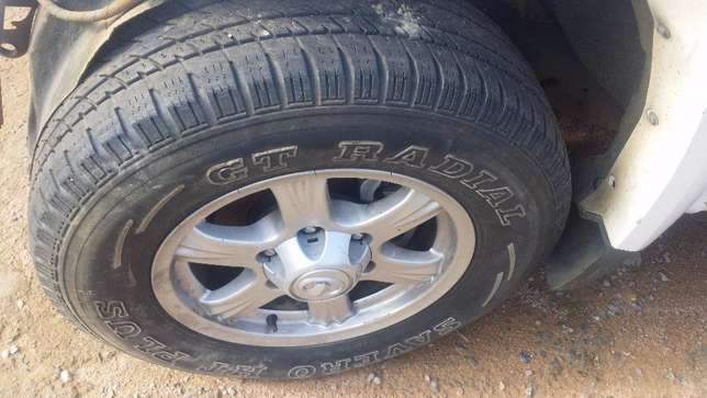 MAGS AND TYRES GWM, 16R 235/70 AND 215/75 15R 6HOLES Jeppestown - image 1