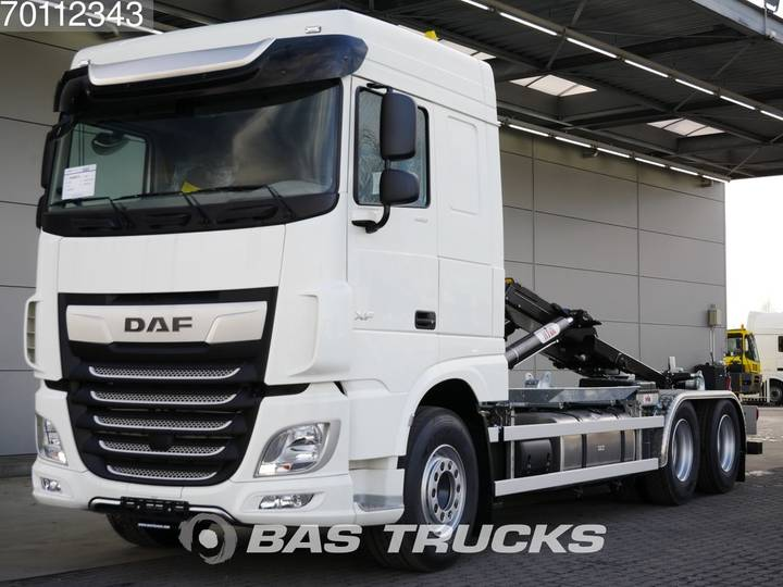 DAF XF 480 6X2 NEW! HYVA 26-tons Hooklift Full Safety Options! - 2019