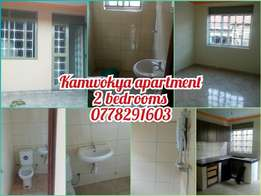 Newly constructed Kamwokya two bedroom