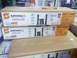 Sayona 3.1 Woofer with 2 Tall Speakers,Bluetooth and 18000 Watts New