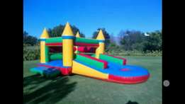 3 in 1 jumping castles for hire
