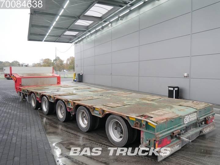 Goldhofer Ausziehbar bis 18m60 Liftachse 4x Lenkachsen HB-C 7445 - 2009
