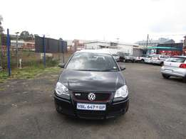 2009 VW POLO GTI,black in color,4 doors,87 000 km,excellent condition