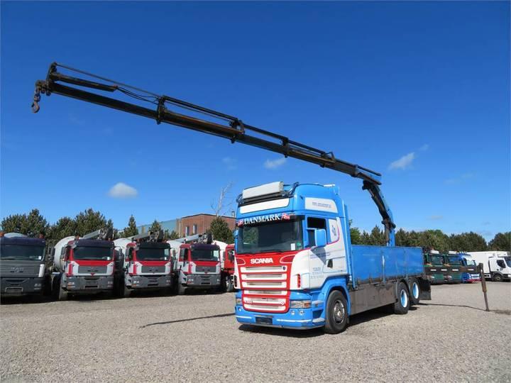 Scania R500 6x2 Kran Palfinger Pk20002 - 2006
