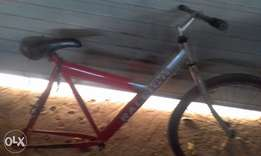 bicycle frame with wheels and steering for sale
