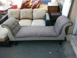Double Arm Chaise Lounge