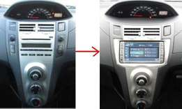 Double-Din fitting kit: For Toyot Vitz/Yaris: New model: 6500 ksh